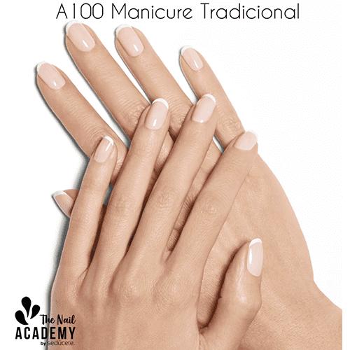 A100 Manicure Tradicional Y Esmaltado Permanente Diurno