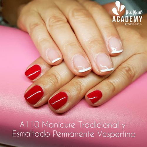 A110 - Manicure tradicional y esmaltado permanente Vespertino
