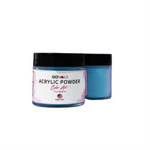 Acrílico Go Nails Powder Color Art #2 Pastel 28 gr