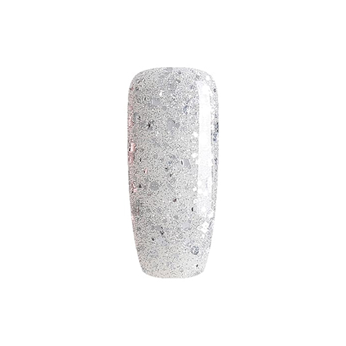 BLUESKY Esmalte Gel 5A51 Glitter Plateado Mixto