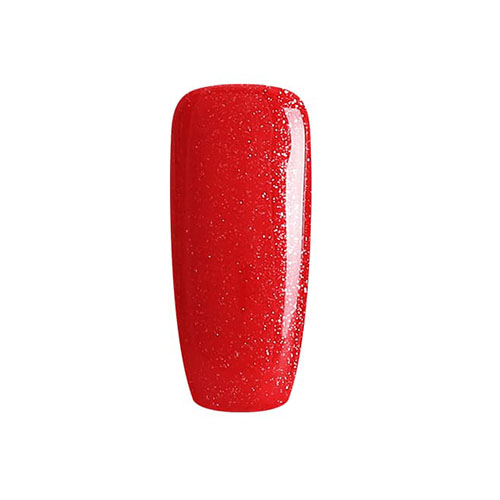 BLUESKY Esmalte Gel A01 Rojo con Glitter