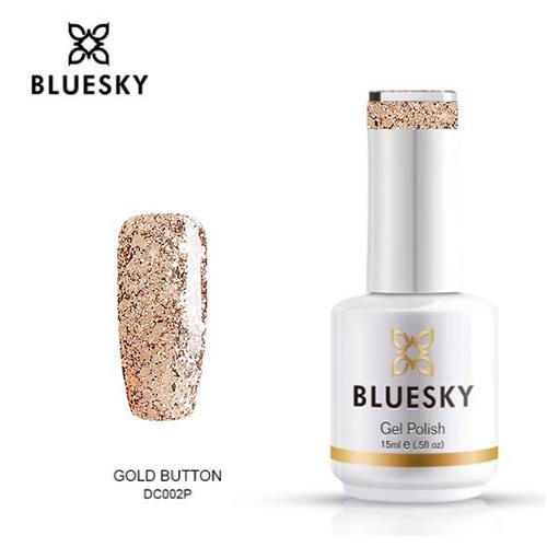 BLUESKY Esmalte Gel DC02 DORADO MIX GLITTER