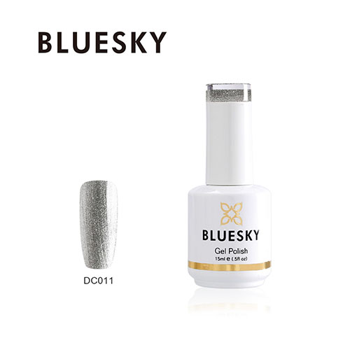 BLUESKY Esmalte Gel Dc11 Plateado