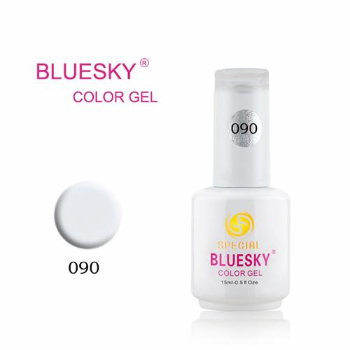 BLUESKY Esmalte Gel DC90 Blanco Tiza
