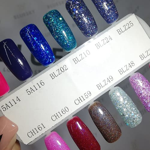 BLUESKY Esmalte Gel holografico CH161