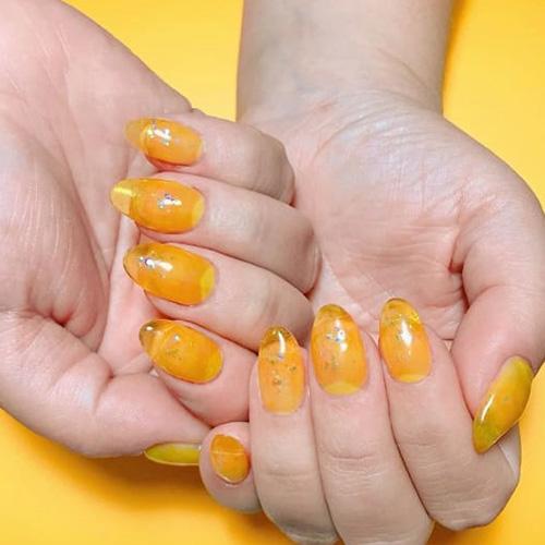 BLUESKY Esmalte Gel MT07 - Amarillo traslúcido