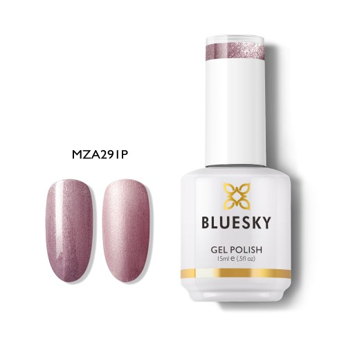 BLUESKY Esmalte Gel MZA291 Rose gold oscuro