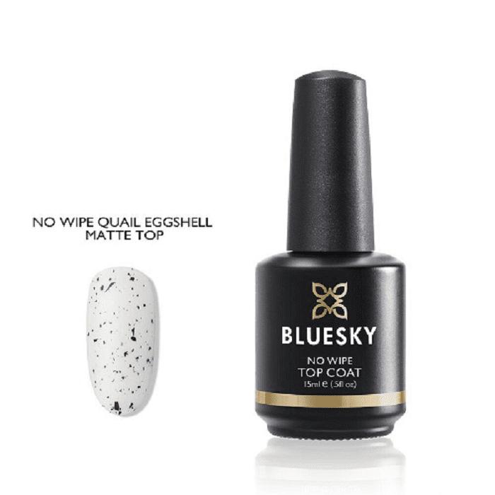BLUESKY Esmalte gel - No Wipe Quail Eggshell (Matte Top)