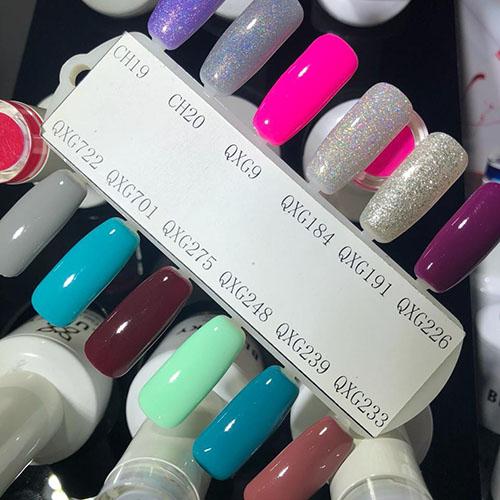 BLUESKY Esmalte Gel QXG009 Rosado Neon fuerte