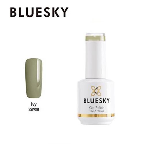 BLUESKY Esmalte Gel SS1908 - Verde aceituna nude