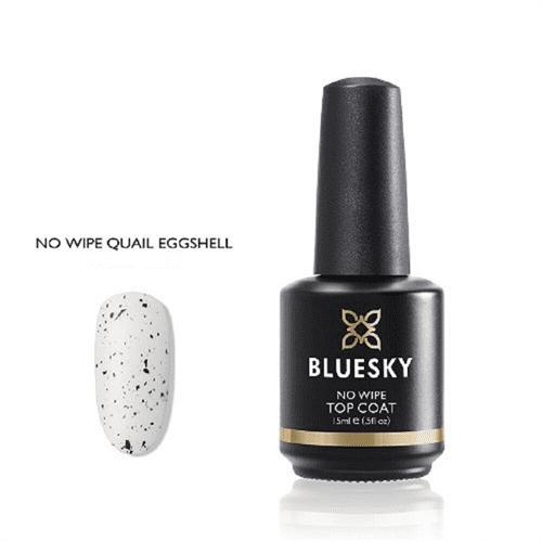 BLUESKY Esmalte gel - Top Coat No Wipe Quail Eggshell