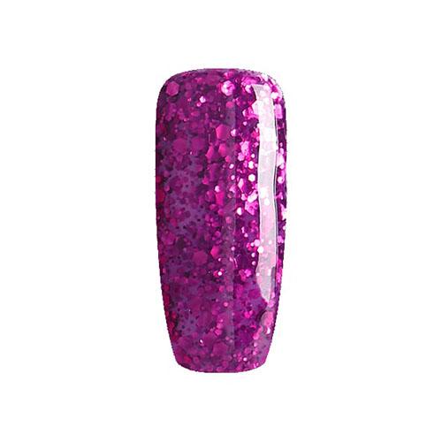 BLUESKY Esmalte Permanente 63901 Morado - Fucsia Glitter gran y peq