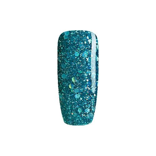 BLUESKY Esmalte Permanente BLz10  Turquesa Glitter
