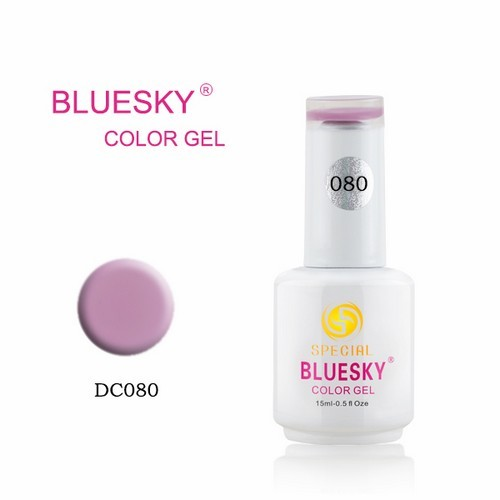 BLUESKY Esmalte Permanente DC80 Orquidea pastel