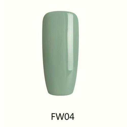 BLUESKY Esmalte Permanente FW04 Verde oscuro pastel