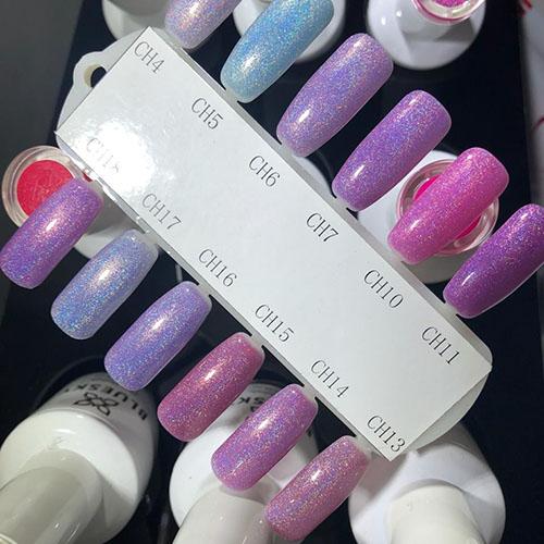 BLUESKY Esmalte gel holografico CH04 - Lila