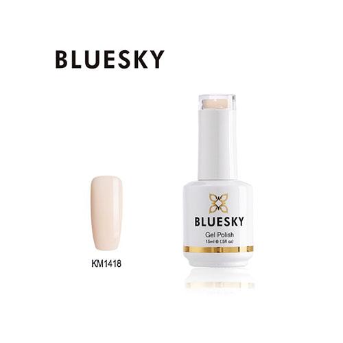 BLUESKY Esmalte Permanente KM1421 Nude Rosado Claro