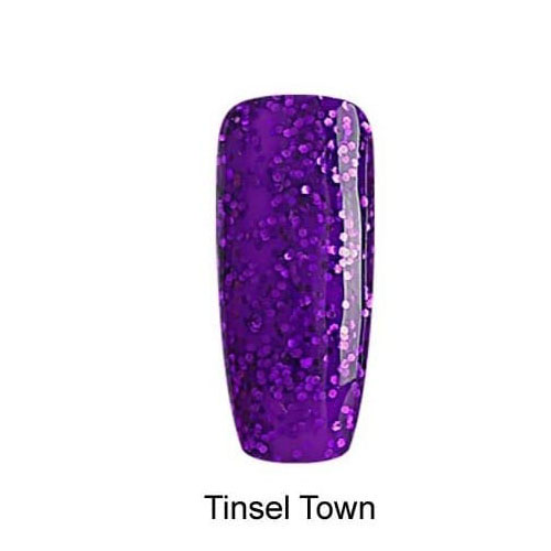BLUESKY Esmalte Gel BSH052 TINSEL TOWN MORADO GLITTER