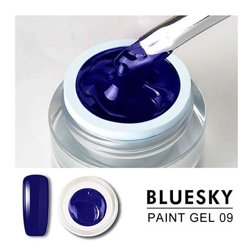 BLUESKY Gel Paint para diseño - 09 AZUL