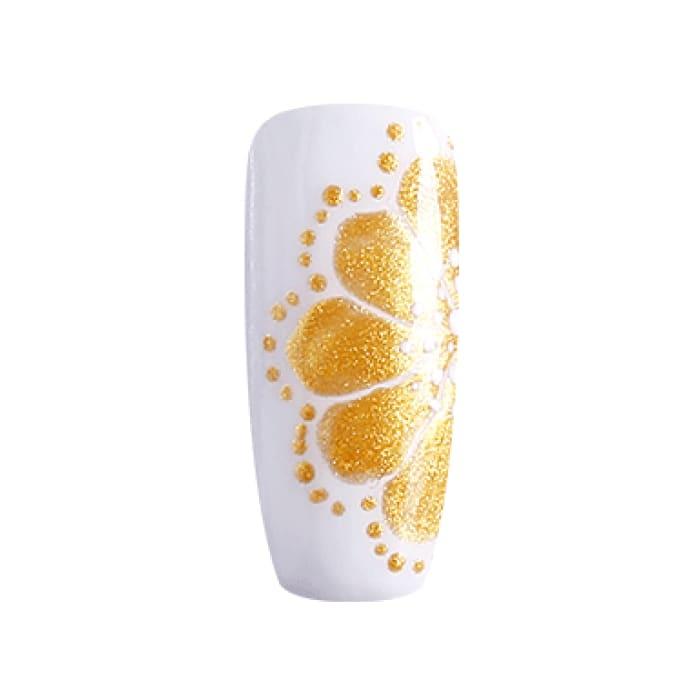 BLUESKY Gel Paint para diseño - 12 DORADO