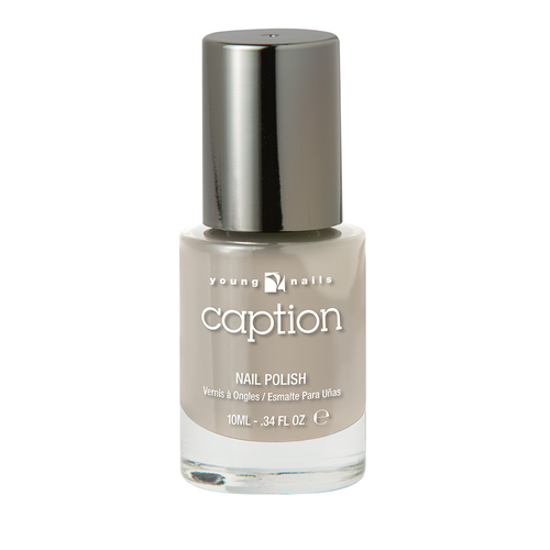 CAPTION CALM COOL & COLLECTED - Nude gris