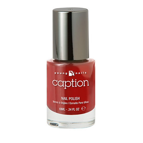 CAPTION TURN IT UP! - Rojo brillante
