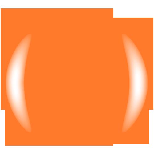 COLOR CLUB Esmalte Gel - Tropical State (Naranjo calabaza neon)