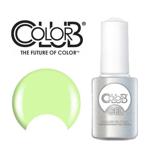 COLOR CLUB Esmalte Gel - Anything But Basic (Verde pastel neon)