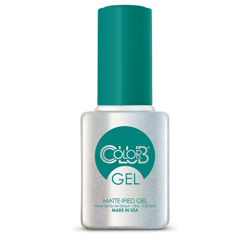 COLOR CLUB Esmalte Gel Top Coat Matte - Matte-ified® Gel