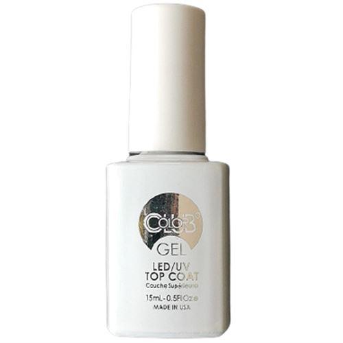 COLOR CLUB Esmalte Gel Top Coat - Seal + Shine