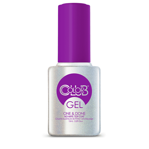 COLOR CLUB Esmalte Gel Top No Wipe - One & Done®