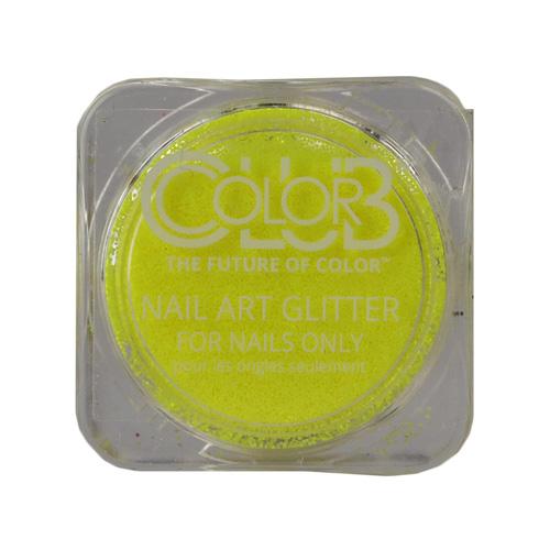 COLOR CLUB Glitter Pot - Cosmic Rays (Amarillo neon)