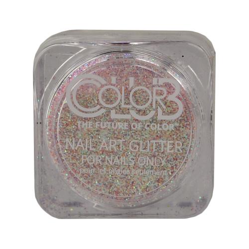 COLOR CLUB Glitter Pot - Intergalactic (Plateado con rojo)