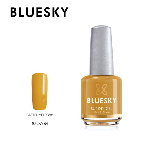 Esmalte tradicional Bluesky - Sunny 04 Yellow pastel