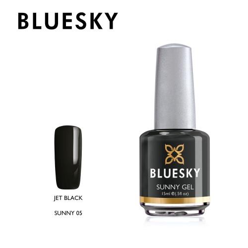 Esmalte tradicional Bluesky - Sunny 05 Jet black - Negro