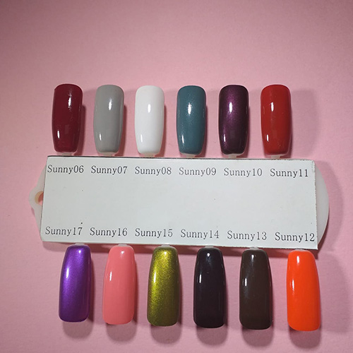 Esmalte tradicional Bluesky - Sunny10 Purple Days - Burdeo metalico