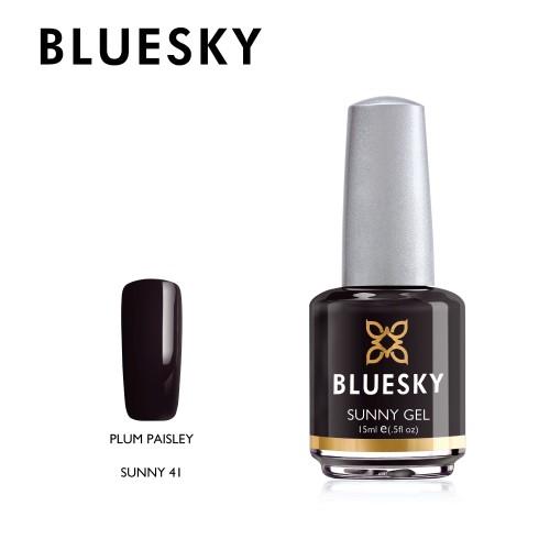 Esmalte Tradicional Bluesky - Sunny41 Plum Paisley