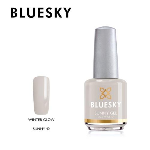 Esmalte tradicional Bluesky - Sunny42 Winter glow - Nude rosado claro