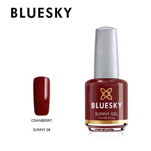 Esmalte Tradicional Bluesky - Sunny58 Cranberry
