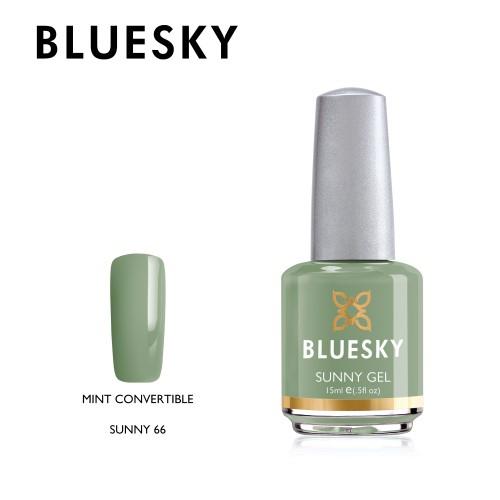 Esmalte tradicional Bluesky - Sunny66 mint convertible - verde menta
