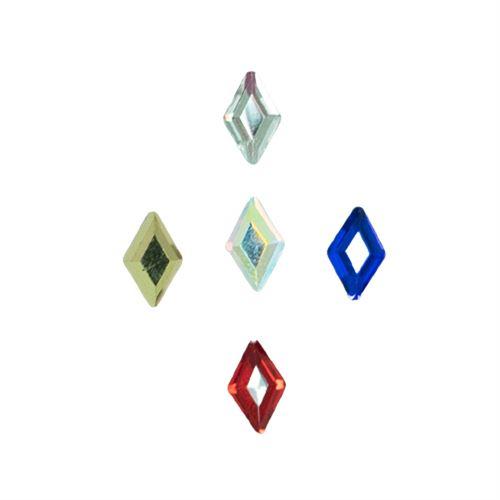 Go Nails Cristales Mix 12 Rombo