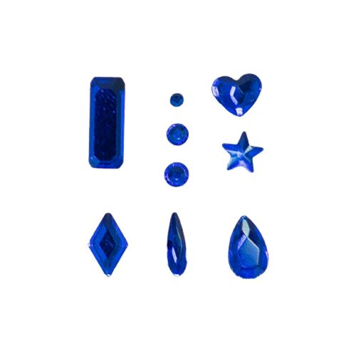 Go Nails Cristales Mix 4 Saphire