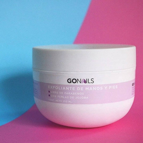 GO Nails - Exfoliante de Manos y Pies 250ml