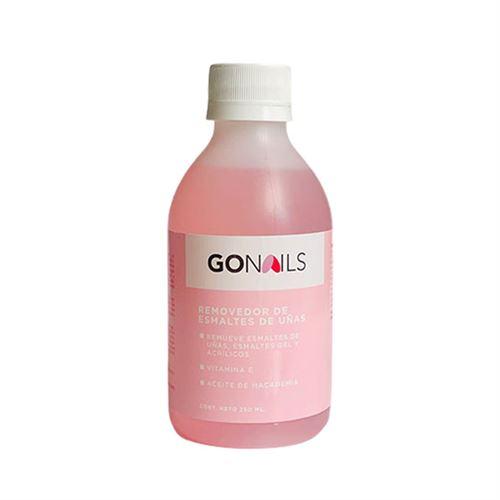 GO NAILS Removedor de esmaltes de uñas 250ml