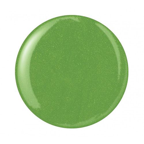 Mani-Q Esmalte Permanente - Aloe 101 Verde manzana con mini glitters