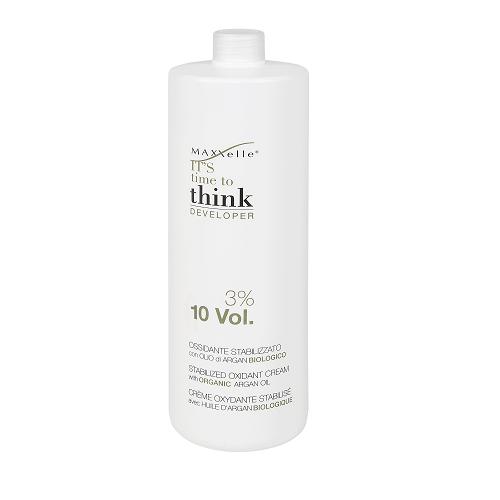 MAXXelle Oxidante Estabilizador Orgánico con Aceite de Argán 10  Vol - 3% 1000 ml