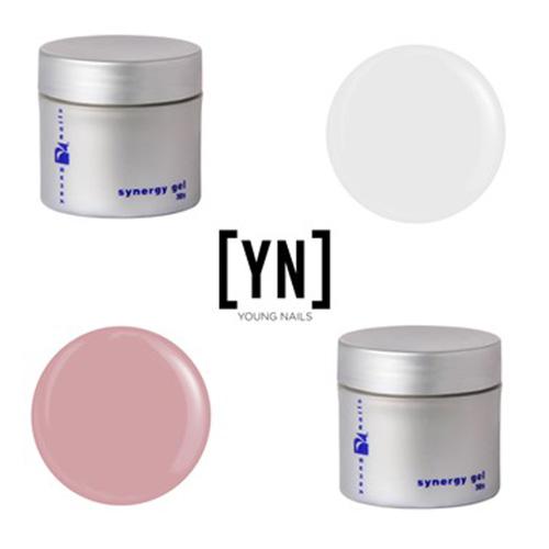 Young Nails - Promoción Sistema Gel 30 gr - Base + Concealer Pink