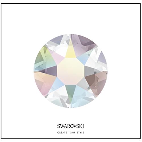 Swarovski 50 Cristales - Crystal Aurora Boreale SS9