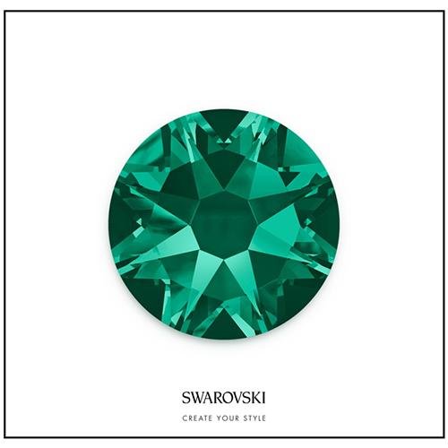 Swarovski 50 Cristales - Emerald SS14