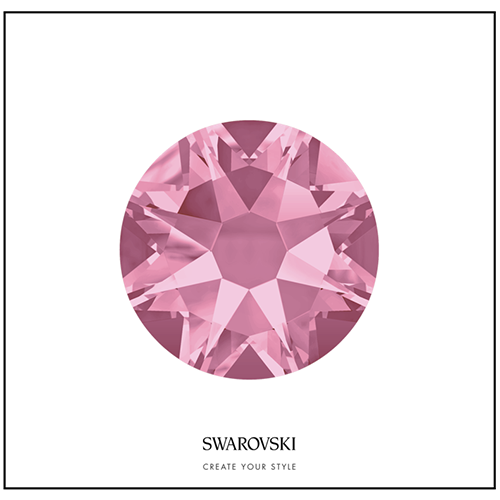 Swarovski 50 Cristales - Light Rose SS12